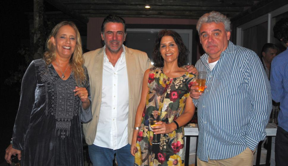 Astrid Barfod, Federico Armas, Magdalena Reyes, Leandro Añon.