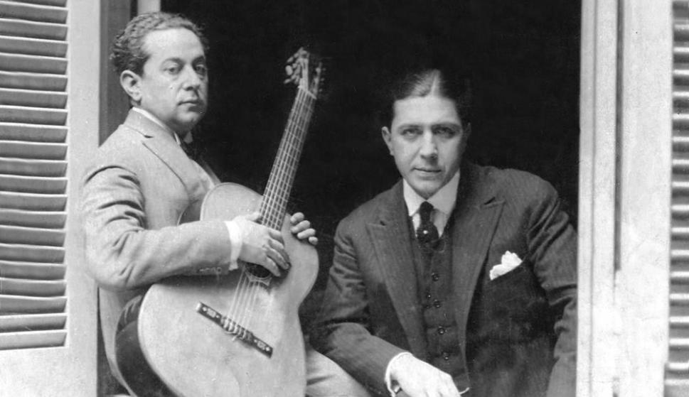 La popularidad del dueto Gardel-Razzano fue en su época mucho más poderosa que lo que sería décadas después la dupla Lennon-McCartney en el mundo de habla hispana. Foto: Wikimedia Commons