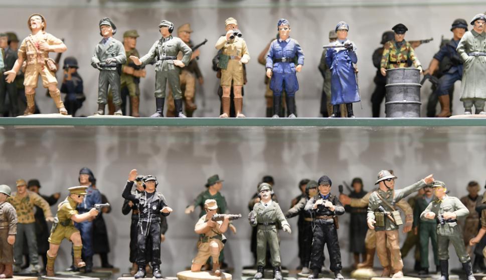 Colecciones de soldados. Foto: Marcelo Bonjour
