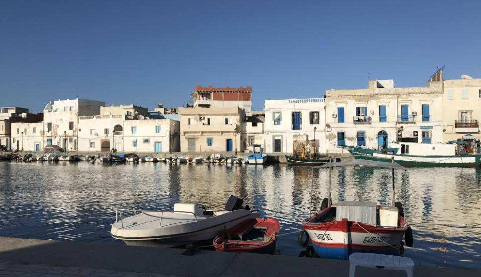 Costa: el viejo puerto de Bizerte, una ciudad tunecina a 65 kilómetros de la capital, con costa al Mediterráneo. Foto: Samuel Brandt