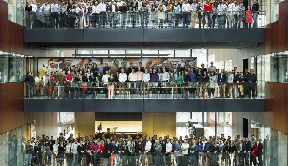 """""""El Cubo"""". vista del centro de innovación y desarrollo de Philip Morris en Suiza. Foto: PMI"""