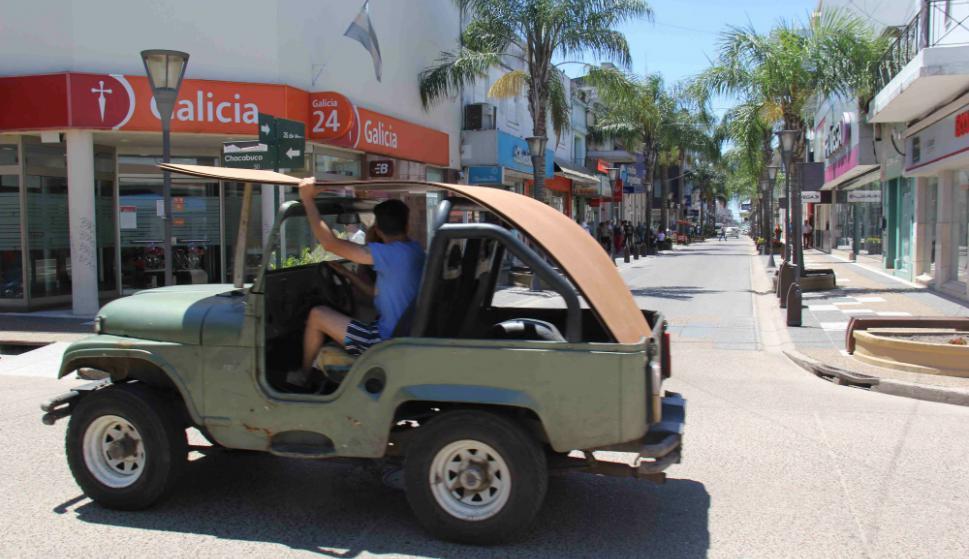"""La cruzada """"ambiental"""" comenzó a principios de 2002. Foto: D. Rojas"""