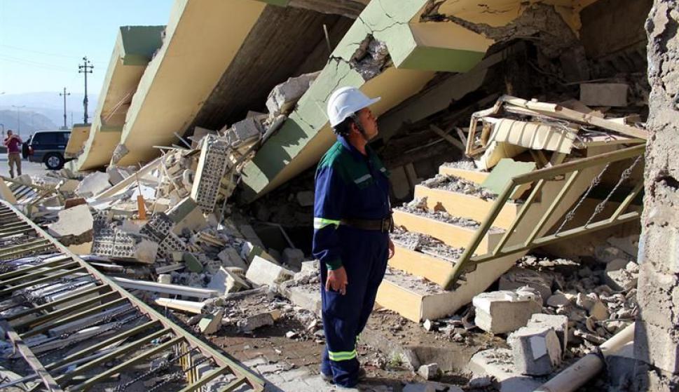 Terremoto en Irán. Foto: EFE