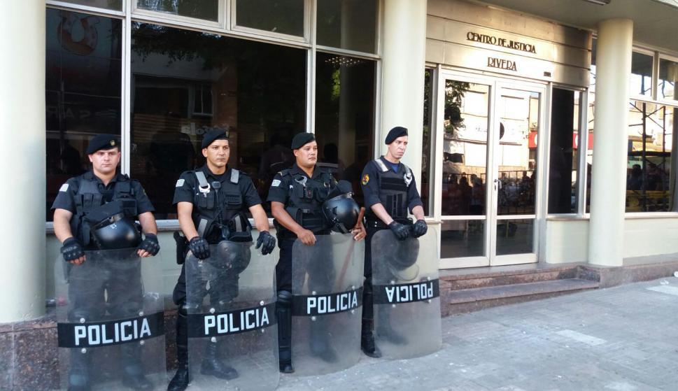 Indignación en Rivera por homicidio de Valentina una niña de 9 años. Foto: El País