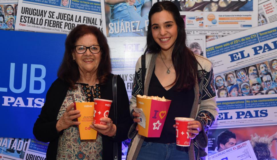Belga Pérez y Sofía Robido. Foto: Darwin Borrelli