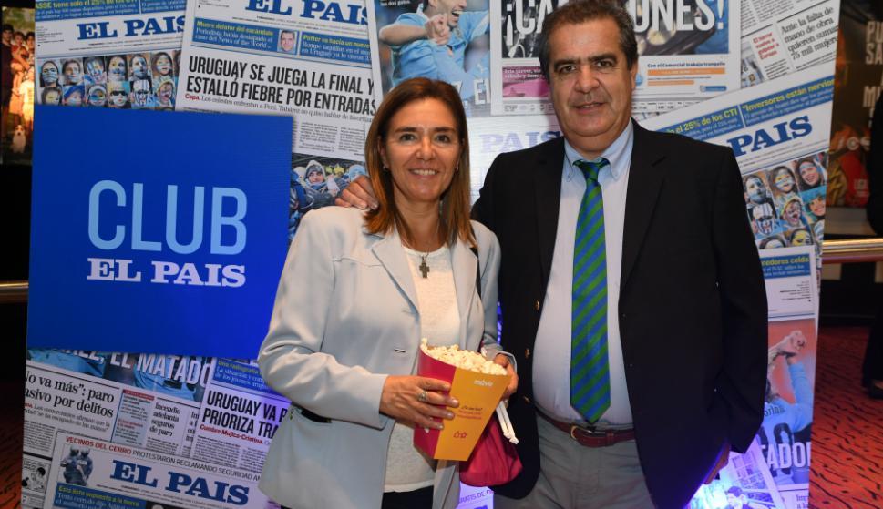 Gabriela Veto y Francisco Gallinal. Foto: Darwin Borrelli