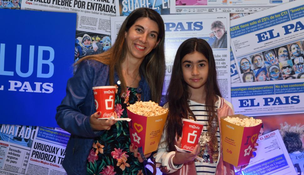 Verónica Gargiulo y Lucía Barrios. Foto: Darwin Borrelli