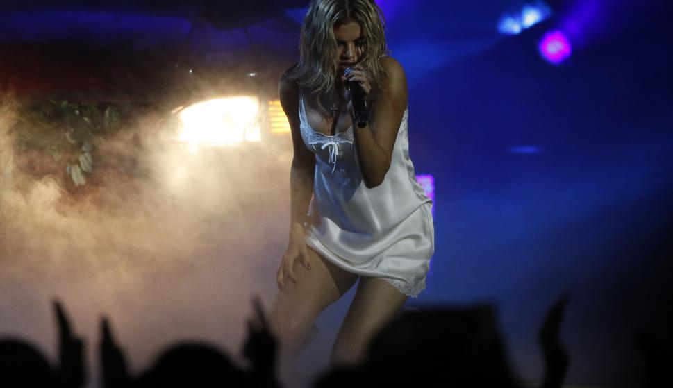 Selena Gómez en los American Music Awards. Foto: Reuters