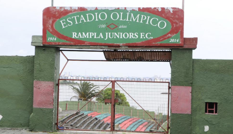 Así luce el escenario de Rampla Juniors, el Estadio Olímpico. Foto: Darwin Borrelli