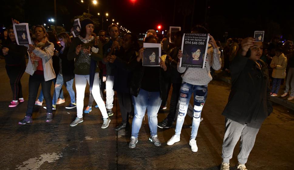 Buscan a niña desaparecida en Villa Española. Foto: Fernando Ponzetto