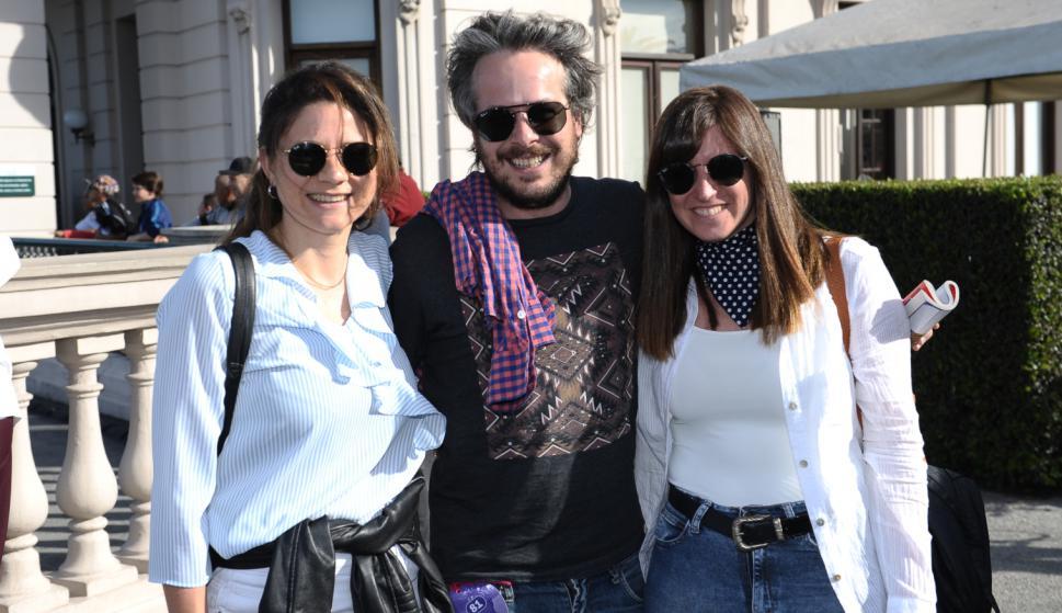 Laura Pérez, Pablo Innella, Ana Laura Batista.