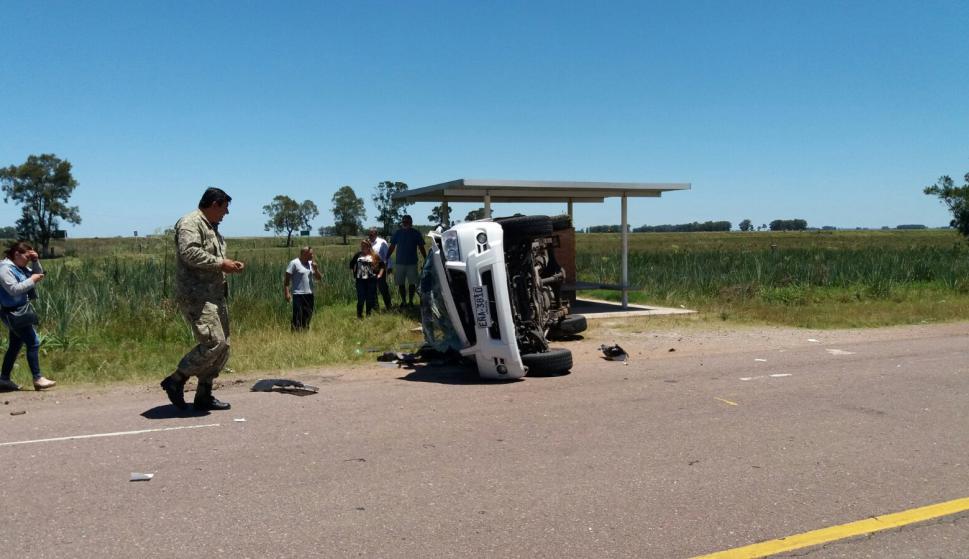 Los ocupantes de los vehículos no sufrieron lesiones de gravedad. Foto: Luis Silva.