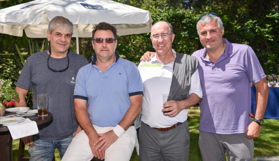 Jorge Rossolino, Álvaro Domínguez, Diego Nogueira, Alberto De La Bandera.