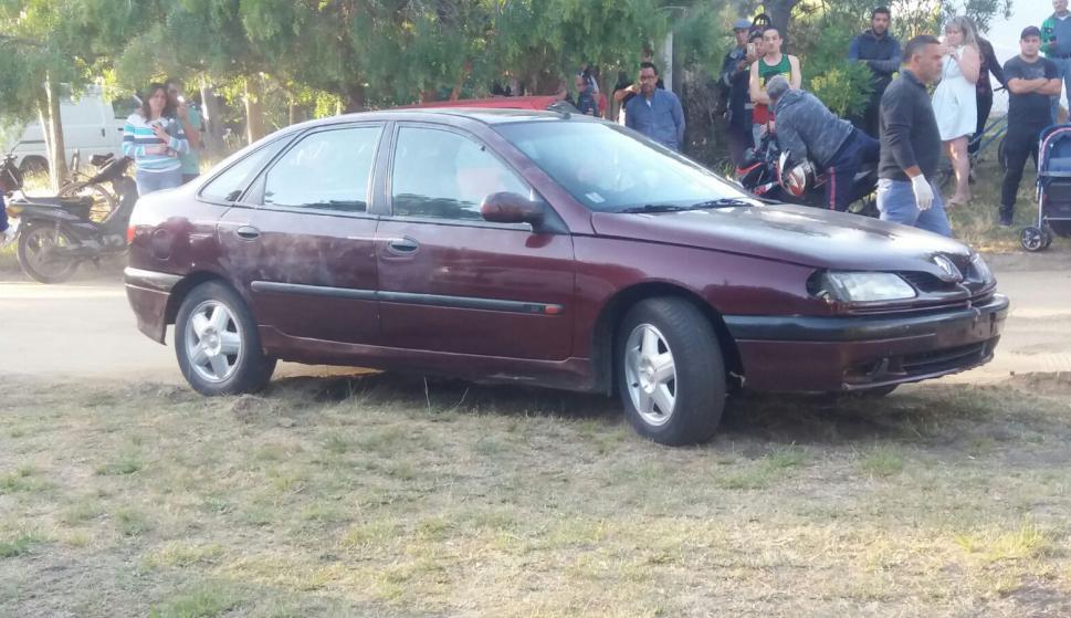 La Policía incautó el auto del hombre detenido por su supuesta vinculación con la desaparición. Foto: El País