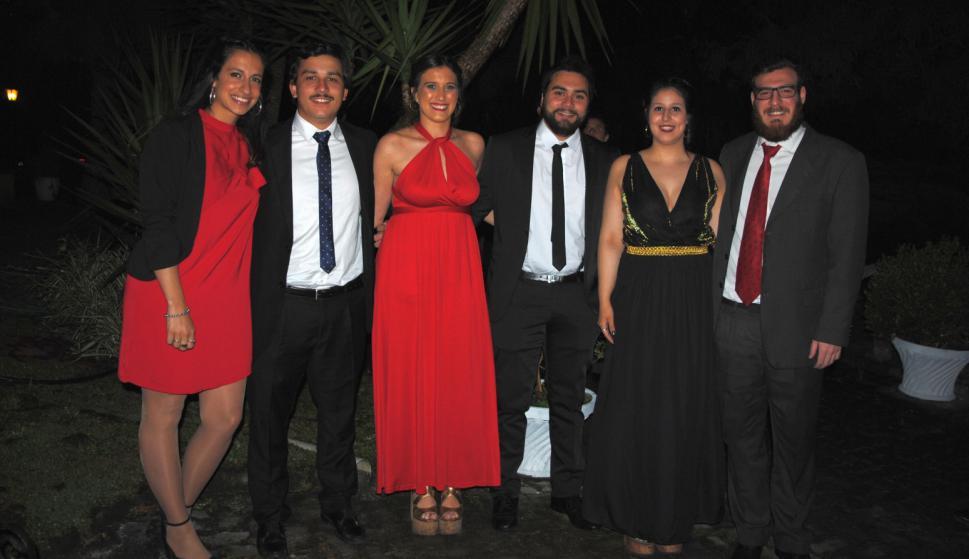 Camila Fuica, Pierino Giloca, Carolina Rivas, Juan Enrique Campos, Valeria Pagliaro, Ignacio López.