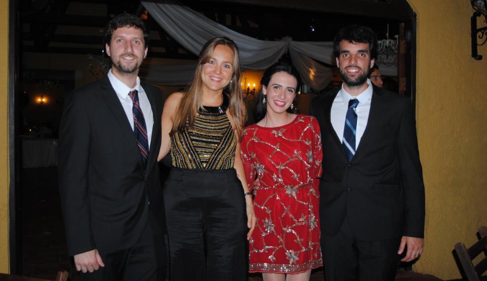 Diego silva, Camila Feit, Andreína Rodríguez, Gabriel Silva.