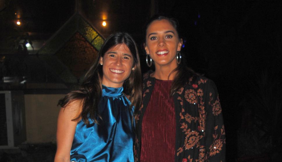Francisca Comas, Inés Flores.