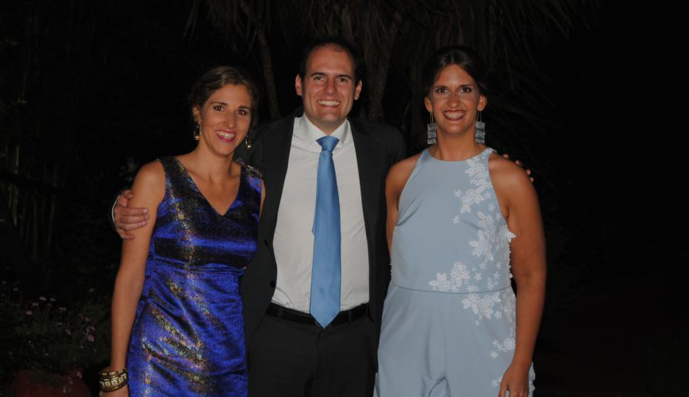 Mercedes Fraschini, Joaquín Duvos, Mercedes Carrocio.