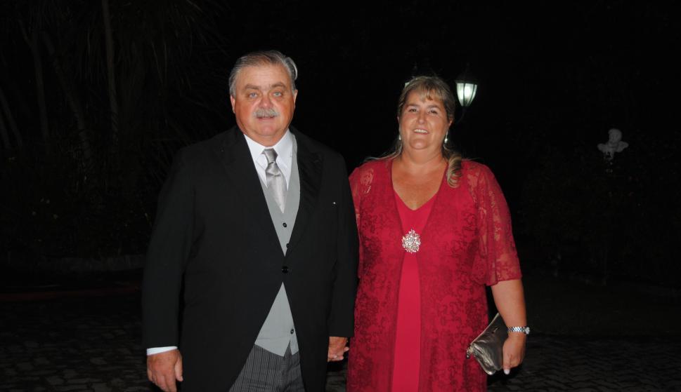 Padrinos Juan Ignacio Preve, Carolina Olaso.