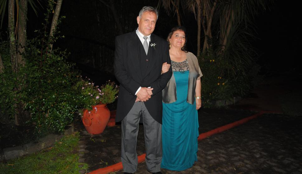 Padrinos Marco Dalla Rizza, Cecilia Aishemberg.