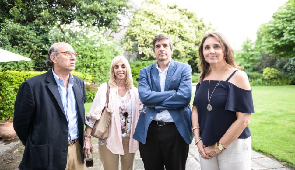 Emilio y Claudia Vidal Scheck, Guillermo Scheck, Gabriela de Frutos.