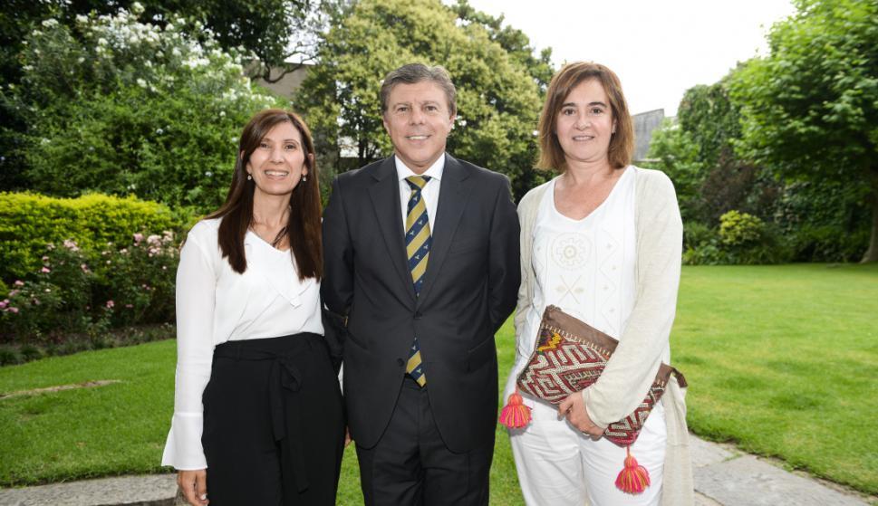 Sulami Rodríguez, Rubén Tribucio, Adriana Vila.