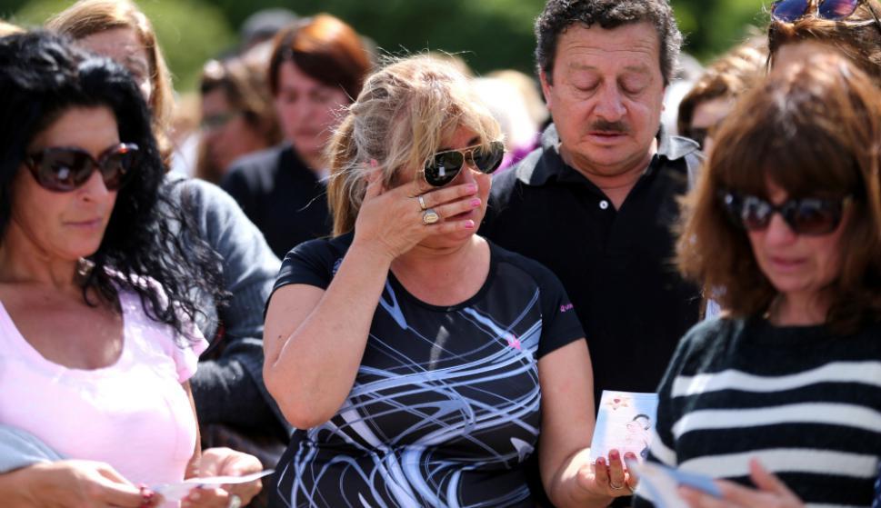 """""""Que no haya nada es terrible, nos sentimos devastados"""", dicen las familias. Foto: Reuters"""