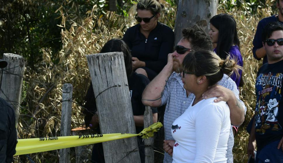 Encuentran cuerpo en Las Vegas. Foto: Marcelo Bonjour