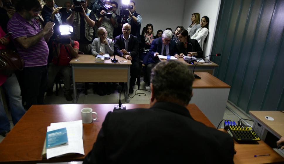 El juez Míguez dictó prisión preventiva por seis meses para el sospechoso. Foto: Fernando Ponzetto