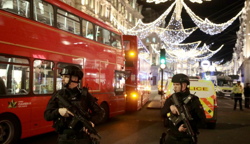 Incidente en el metro de Londres. Foto: Reuters