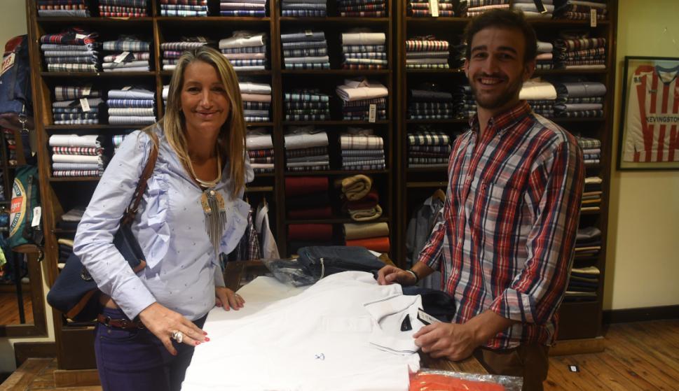 Gabriela Varini y Federico Malvar en Kevingston
