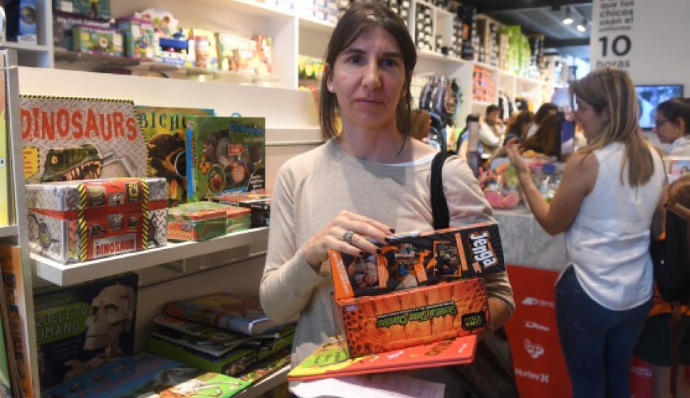 Natalia Trías en Boomerang.