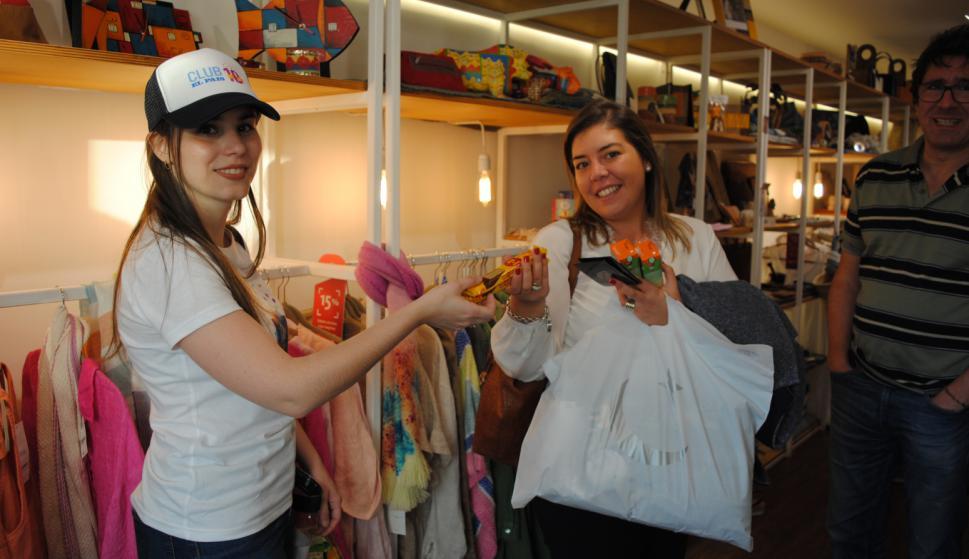 María Noel Campaña, María Laura Britos en Baby Market.