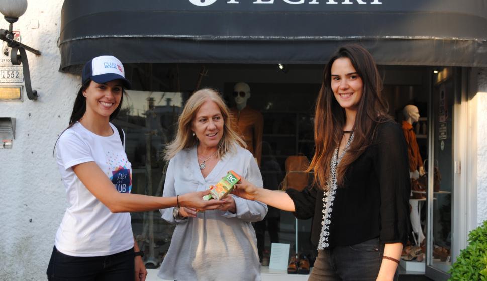 Mariana Rizzo, Rosario Bordes, María Noel Durante en Pecarí.