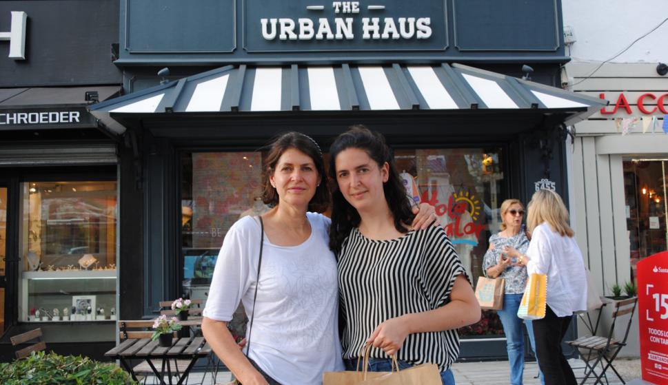 Noelia Prospero, Florencia Rapetti en Urban Haus.