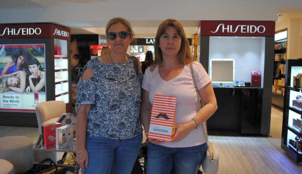 Irma Scheck, Cristina Rodríguez Veiga en San Roque.