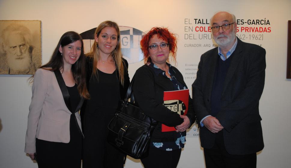 Eleonora Sucharczuk, Florencia Astori, Mariana Percovich, Joaquín Ragni.