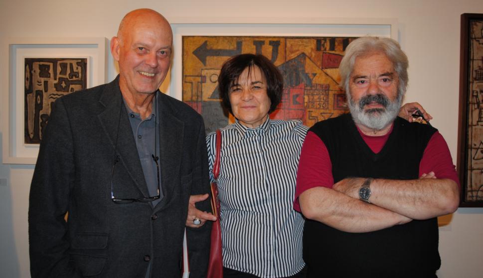 Rafael Lorente Mourelle, Blanca de Francisco, Mario Sagradini.
