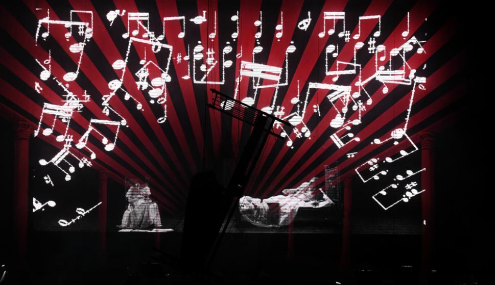 """""""El Delirio"""" en el Centenario. Foto: Ariel Colmegna"""