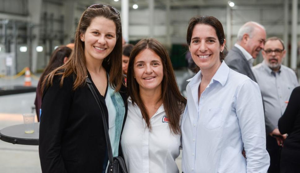 Lorena Martínez, Patricia Revello, Cecilia Ferrari.
