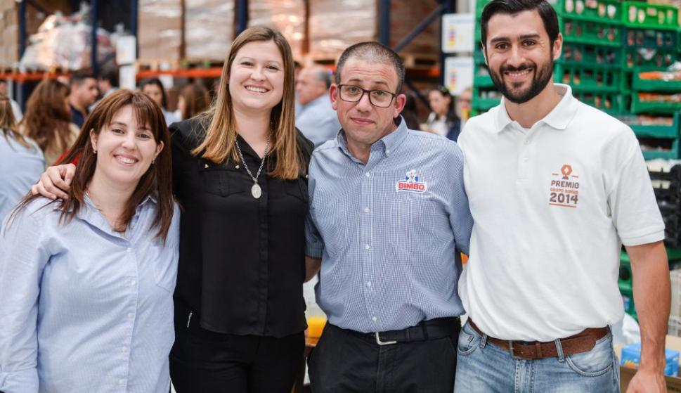 Marila Petrina, Gretchen Schoeph, Daniel Rodríguez, Sebastián Pesce.