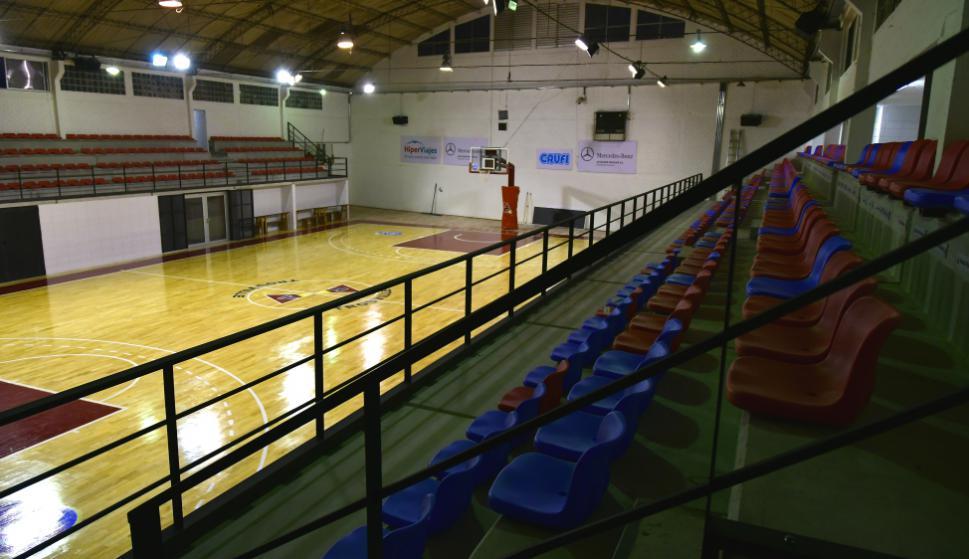 Así luce el estadio de Trouville con su modernización. Foto: Fernando Ponzetto