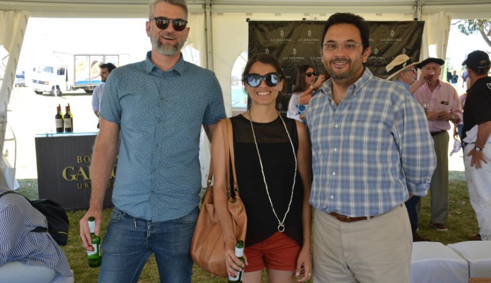 Philip Guy, Manuela Fernández, Juan Manuel Escalante.