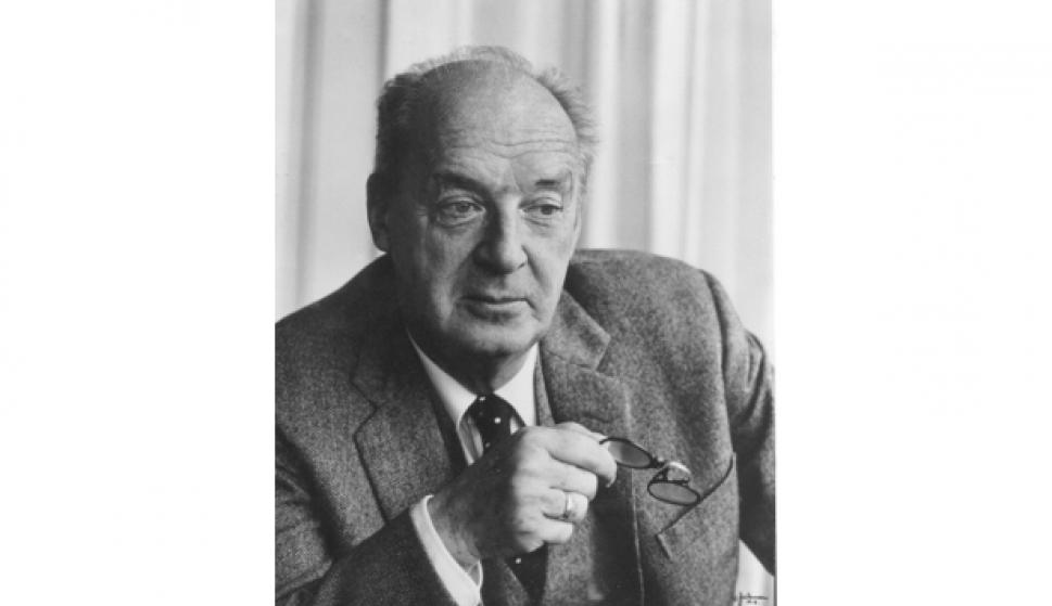 Vladimir Nabokov. Foto Jerry Bauer