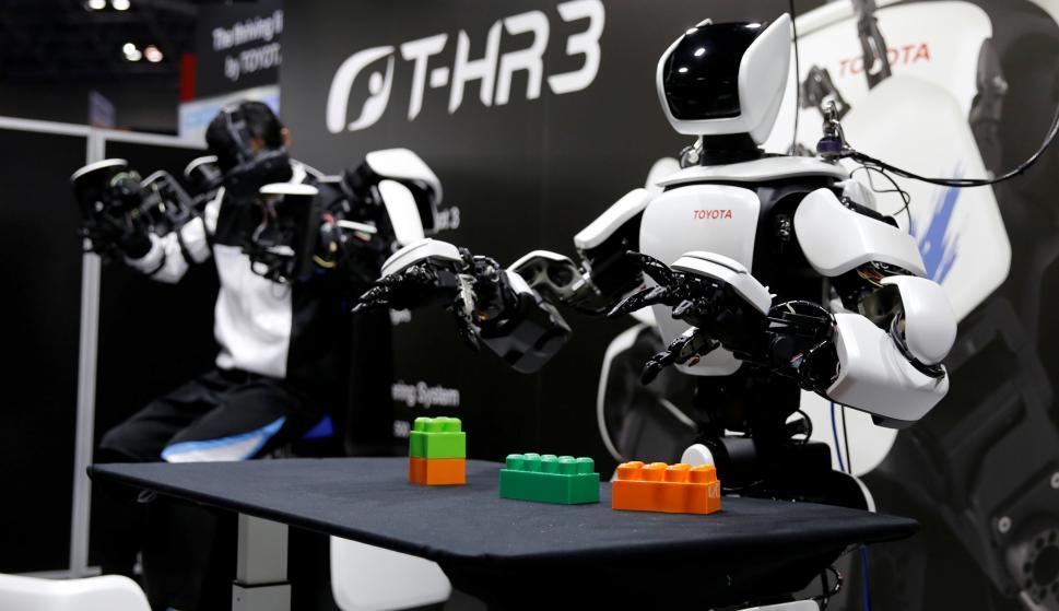T-HR3, tercera generación de Toyota. Foto: Reuters