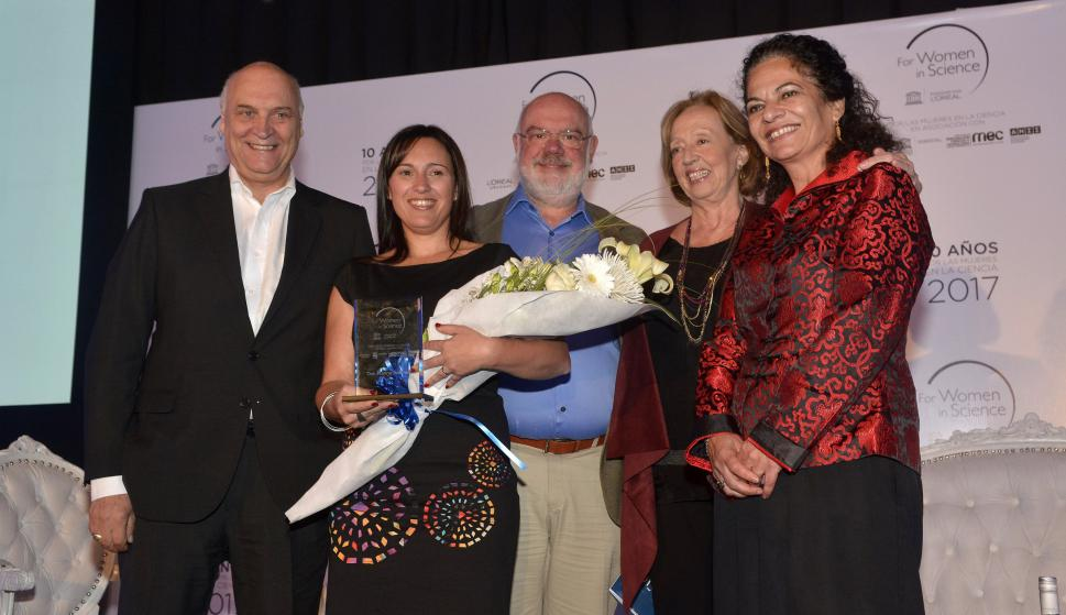 Aníbal Scavino, Karina Antúnez, Jorge Moleri, María Julia Muñoz, Lidia Brito.