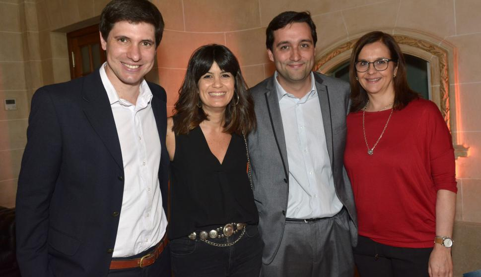 Santiago Blanco, Sofía Torrendell, Gonzalo Nande, Ana Buonomo.