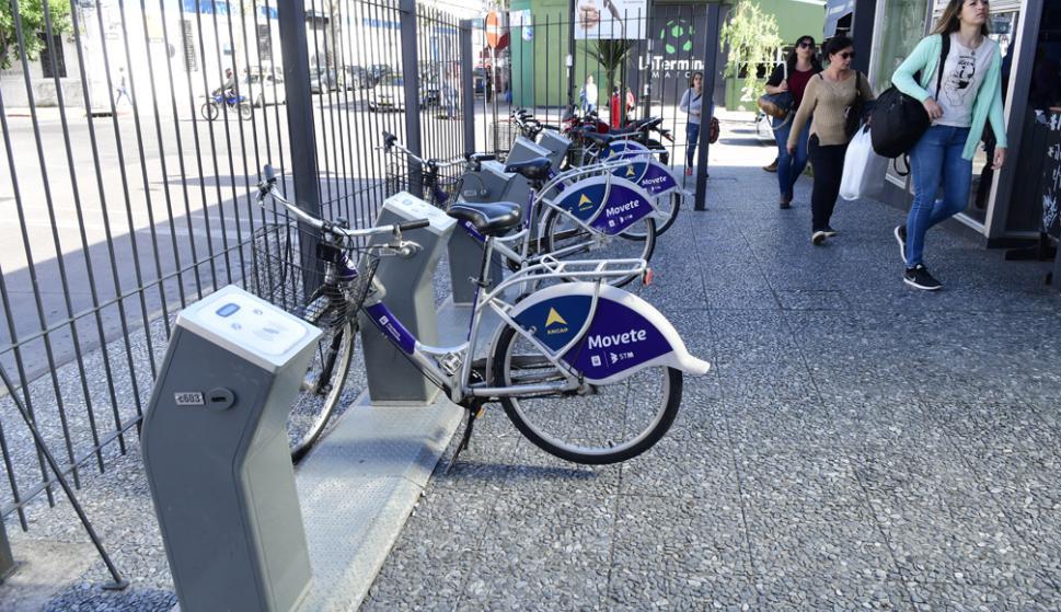 Una de las estaciones no tenía usuarios en la Ciudad Vieja y se trasladó a la terminal Baltasar Brum. Foto: M. Bonjour