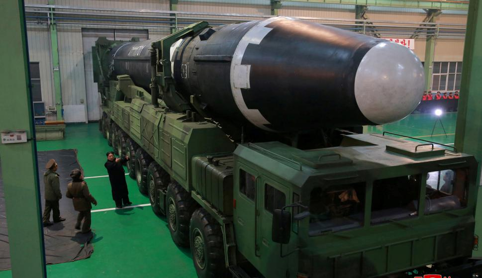 El misil, más grande y mejor diseñado. Foto: Reuters