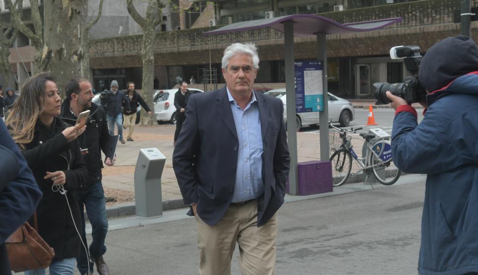 Agustín Bascou, intendente de Soriano. Foto: Francisco Flores.